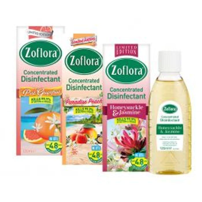 Zoflora Disinfectant Summer Assortment 120ml