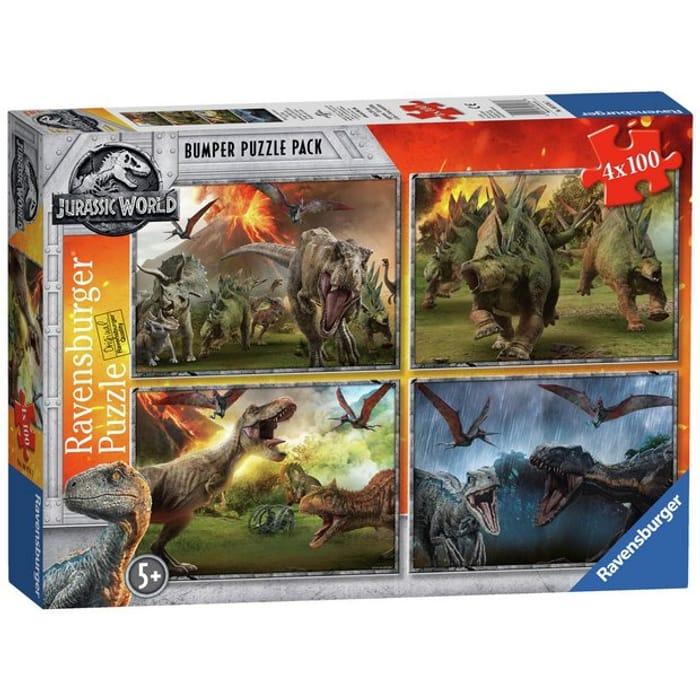 Ravensburger Jurassic World 4 X 100 Piece Puzzles
