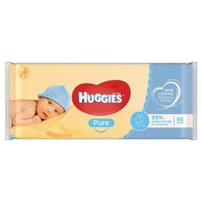 Huggies Baby Wipes Pure X56