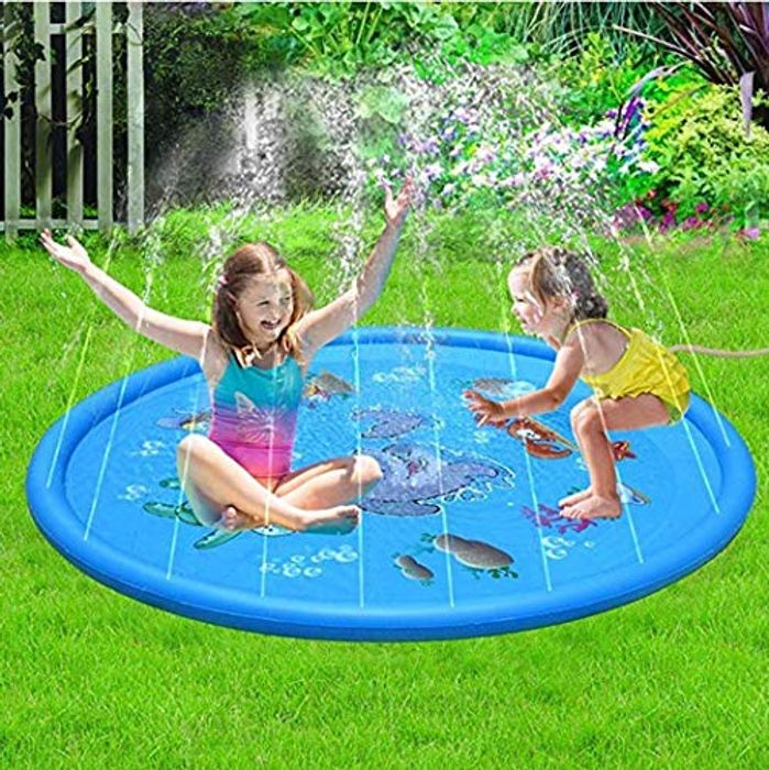 Portable Outdoor Inflatable Water Spray Play Mat