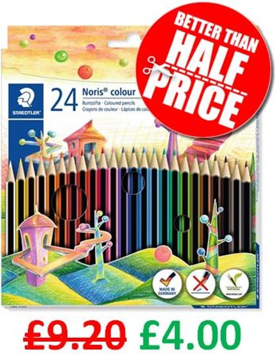 24 Staedtler Noris Colouring Pencils - AMAZON BEST SELLER