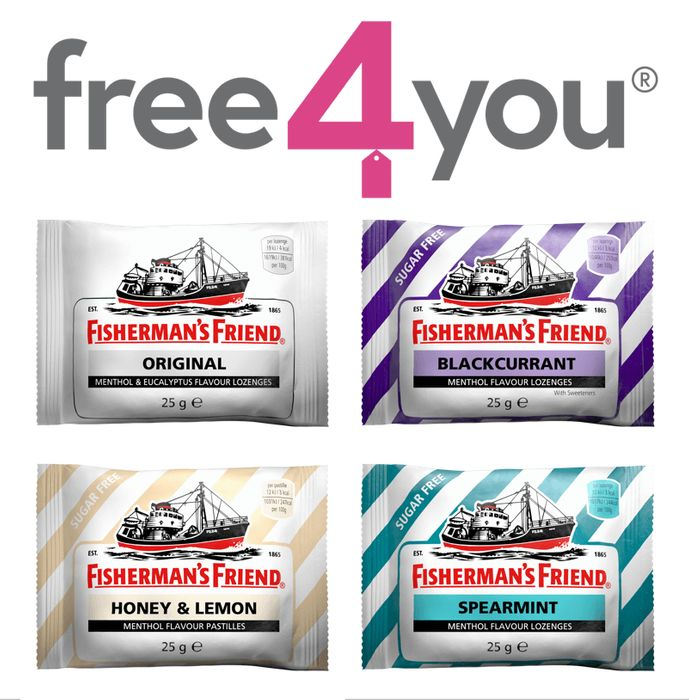 Free Fisherman's Friend Throat Sweets