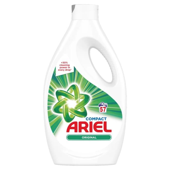 Ariel Bio Liquid 57 Washes - Save £4