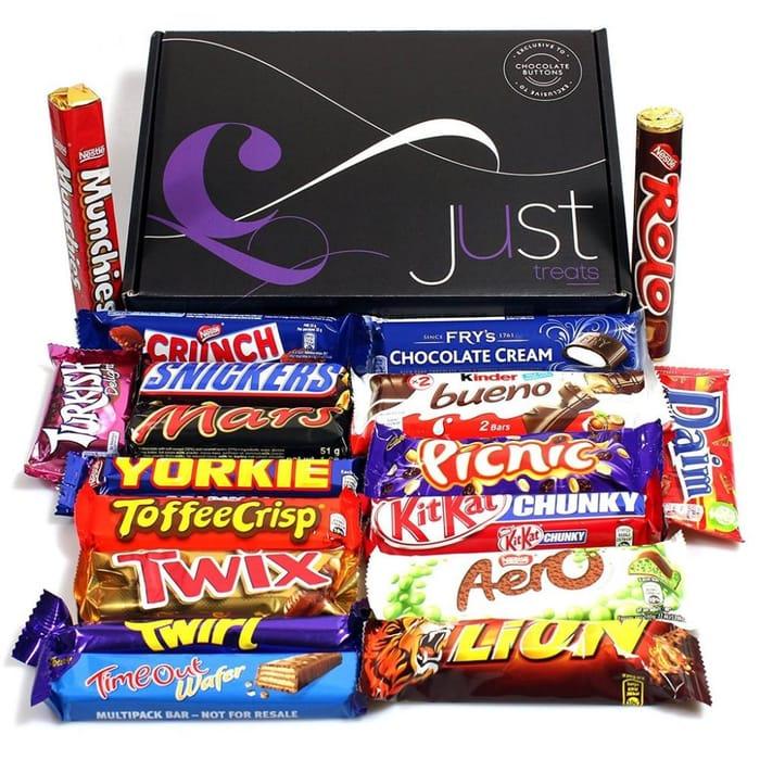 RETRO Chocolate Treasure Gift Jam Packed!
