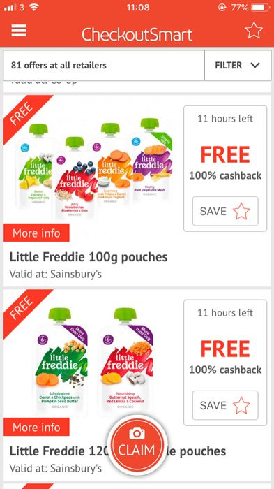 FREE Baby Food! TODAY ONLY!