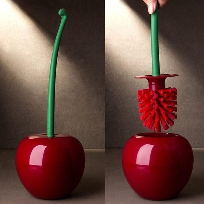 Cherry Toilet Brush