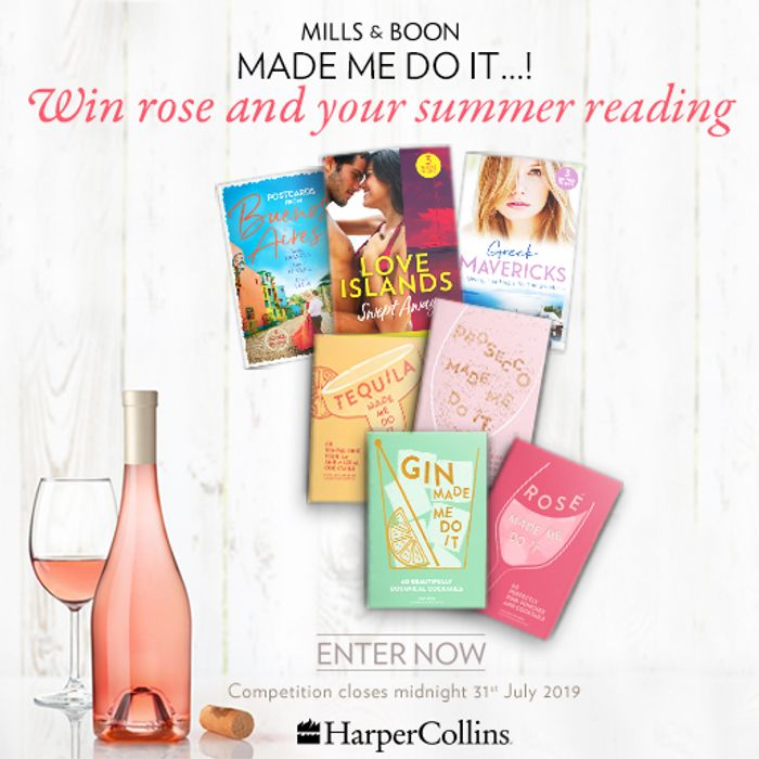 Win! a Bottle of Rose and Your Summer Reading!
