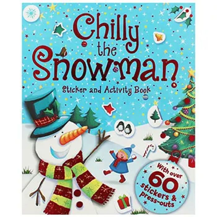 Chilly the Snowman - Sticker and Activity Book