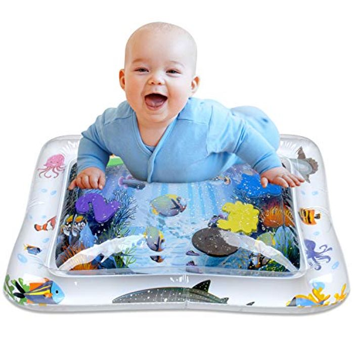 Baby Water Sensory Play Mat - White
