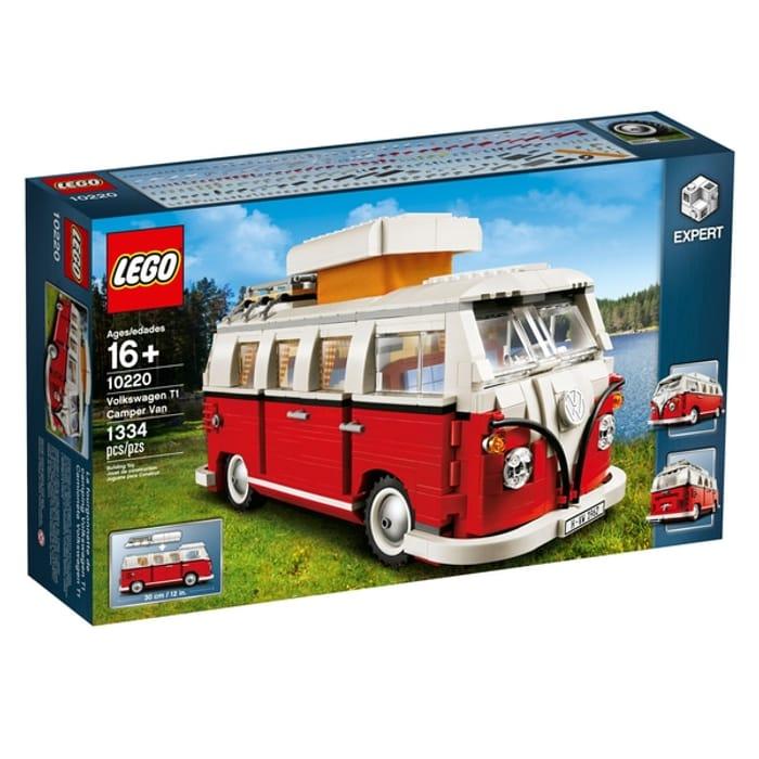 LEGO 10220 Creator Expert Volkswagen T1 Camper Van Construction Toy