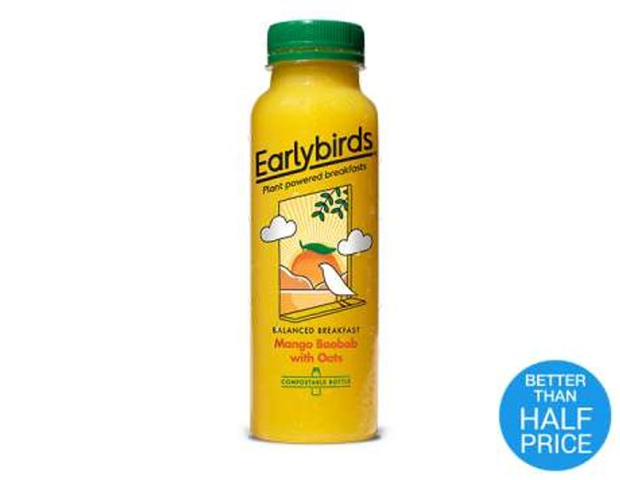Free Earlybirds Mango Baobab Snacking Drink - Checkout Smart
