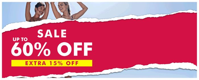 Up to 60% off Sale + Extra 15% off at Ann Summers!