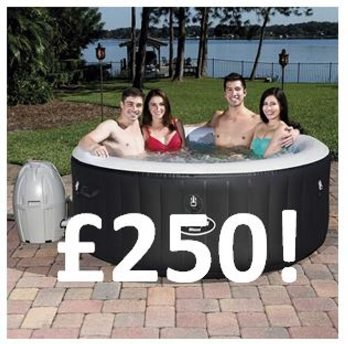 It's Back! Lay-Z-Spa Miami Hot Tub £250 DEAL at AMAZON!