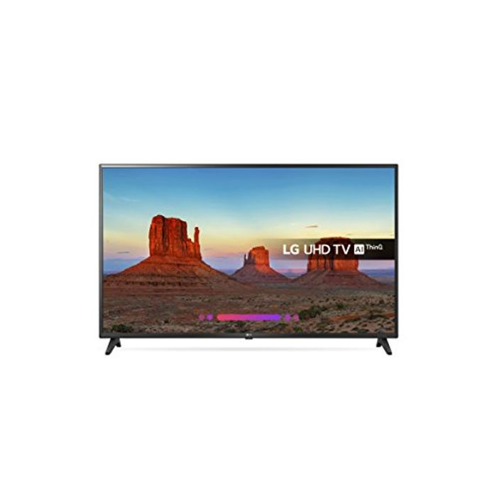 LG 43UK6200PLA 43-Inch 4K UHD HDR Smart LED TV with Freeview Play (2018 Model)