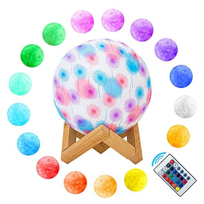 3D Moon Night Lamp 16 Colours (Mega Price Drop!!)