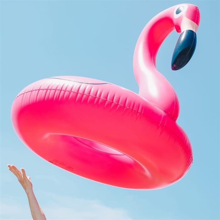 Pink Flamingo Pool Float BIG 95% Saving