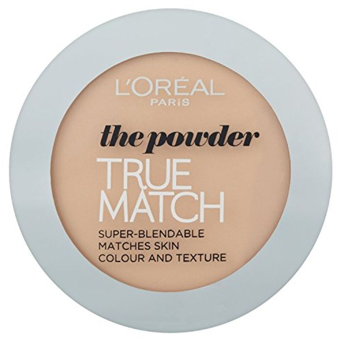 L'Oreal Paris True Match Powder, W1 Golden Ivory Only £4.66