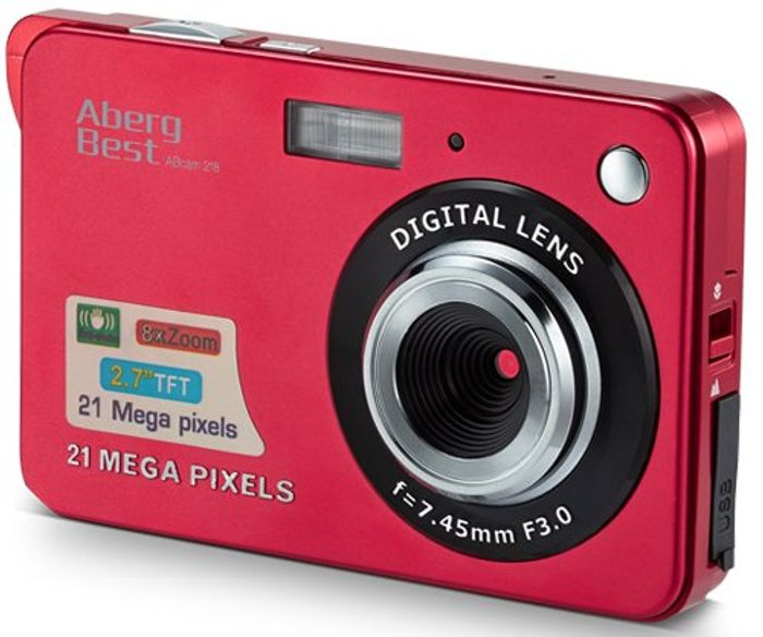 Code Stack! LCD Digital Camera - Only £15.20