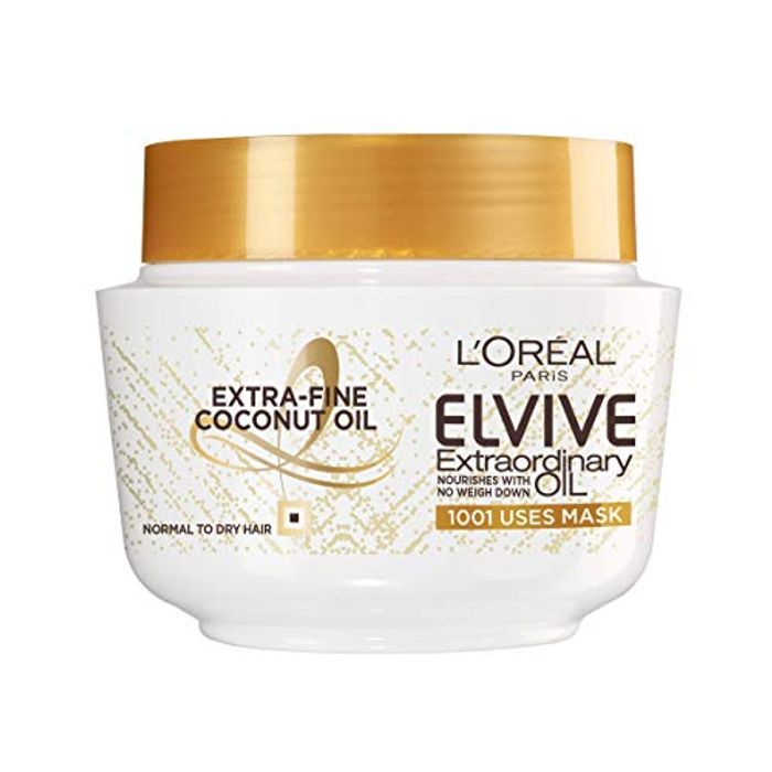 L'Oral Elvive Extraordinary Oil Coconut Hair Mask Leave-in Conditioner (Add-On)