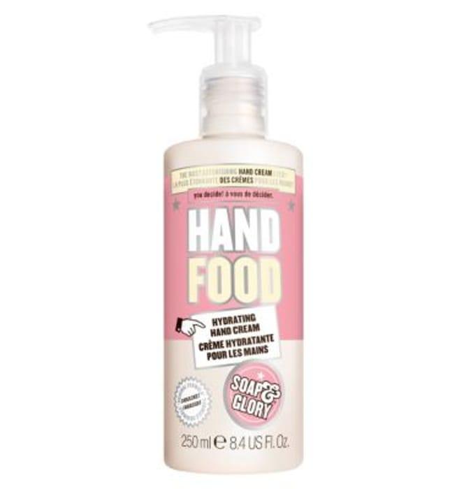 Soap & Glory Hand Food Hand Cream Pump 250ml