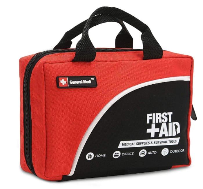 General Medi - 160 Piece - Premium FIRST AID KIT BAG **4.6 STARS**
