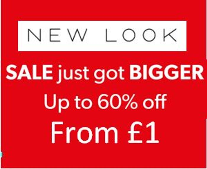 NEW LOOK SALE - FROM £1