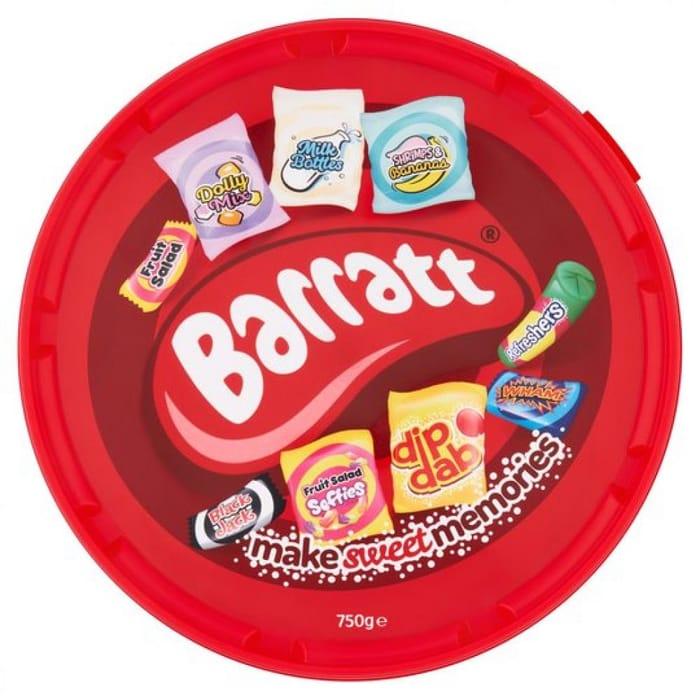 MEGA DEAL Barratt Make Sweet Memories Selection 750g