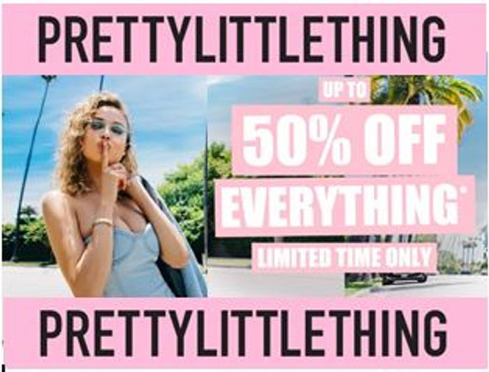 Up to 50% off EVERYTHING in the PLT SALE