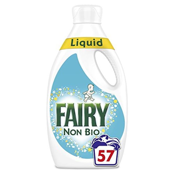 Fairy Non Bio Washing Liquid (57 Washes) (AMAZON PANTRY