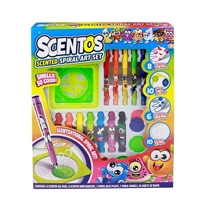 Scentos Scented Spiral Art Set