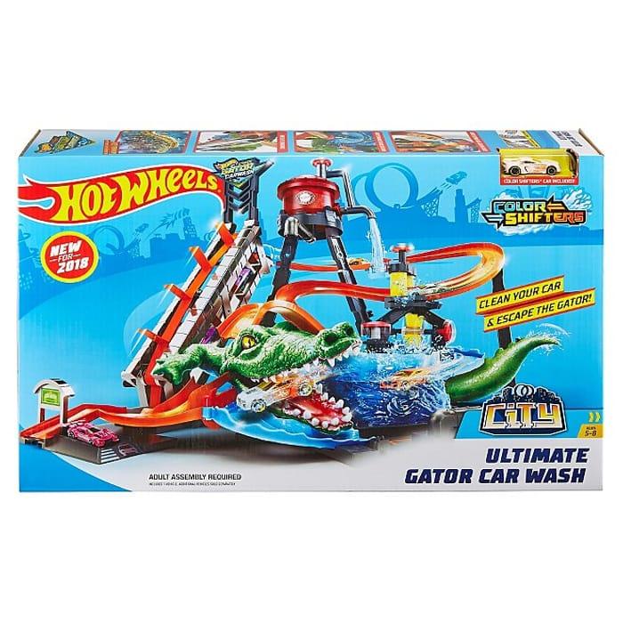 Hot Wheels City Ultimate Gator Car Wash