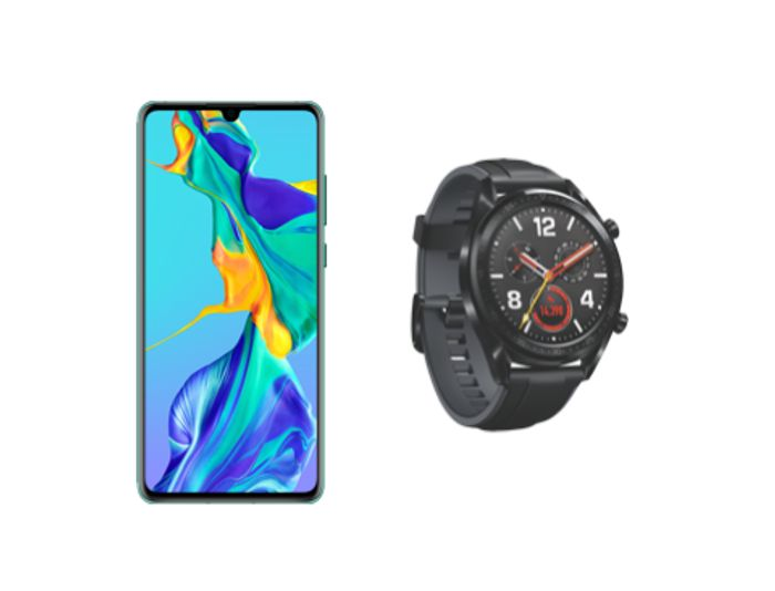 Huawei P30 Pro Unlimited Data Unlimited Minutes Unlimited Texts + FREE GT Watch