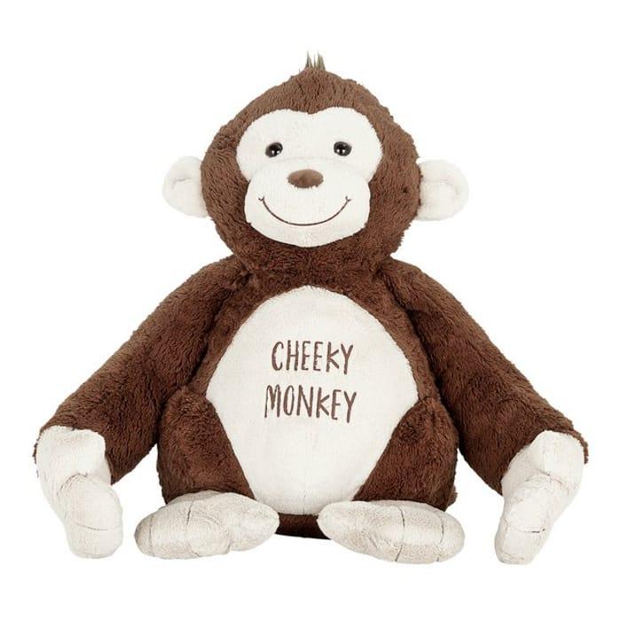 Argos Home Valentine's Day 56cm Tall Monkey Plush
