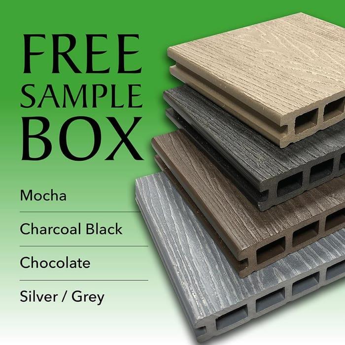 Free Decking Sample Box