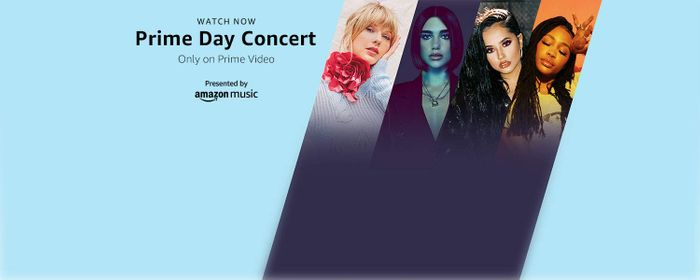 Free Prime Day Concert on Now