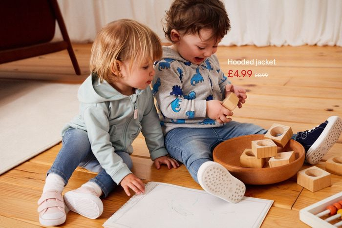H&M - Happy Baby Hoodies for £ 4,99