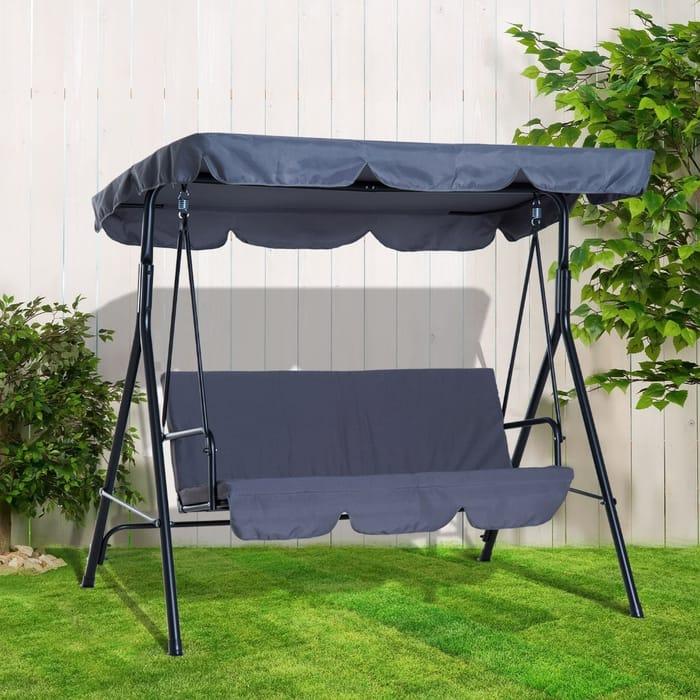 Garden Swing Chair - 3 Colours