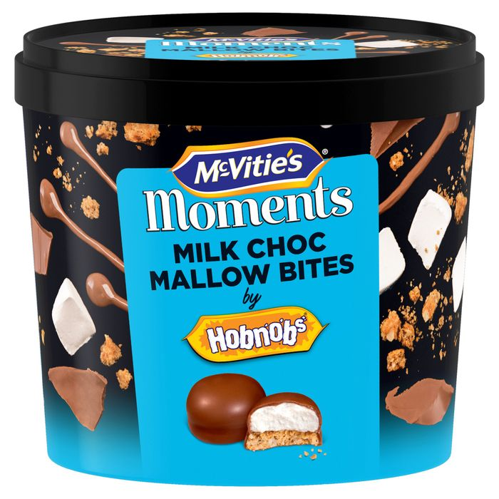 Mcvities Hobnobs Mini Milk Chocolate Teacake Tub *Any 2 for £3.00 until November