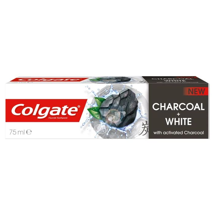 Colgate Natural Extract Charcoal Toothpaste 75ml with £3.5 discount - Great buy!