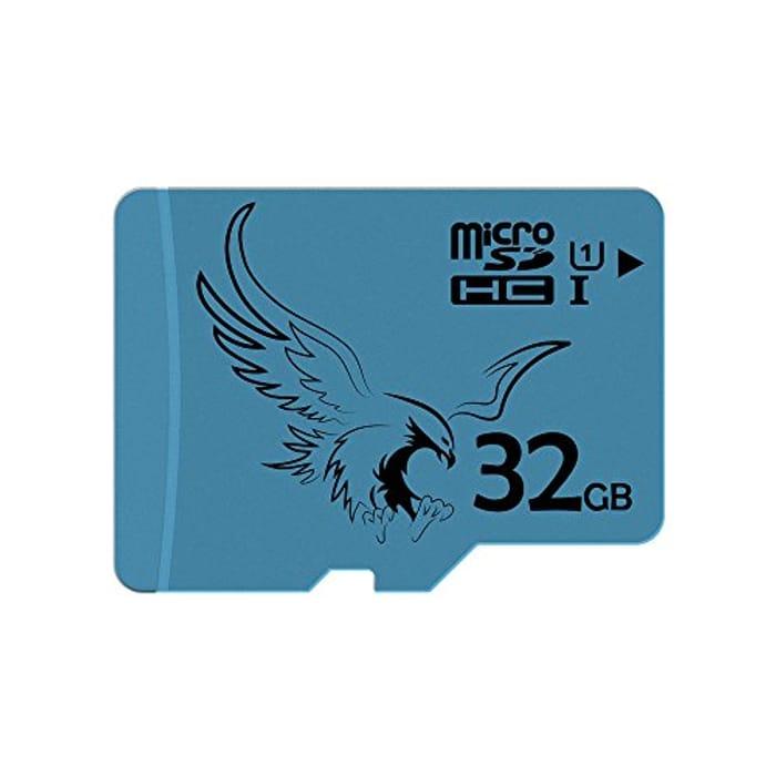 Lightning Deal! BRAVEEAGLE 2 Pack Micro SD Card 32GB Class 10