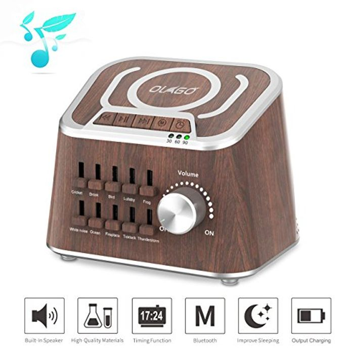 White Noise Machine, Olago Mixed Sound Sleep Spa Machine for Insomniac