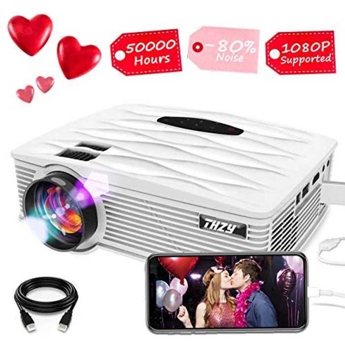 2200 Lumens Mini Projector 1080p Only £24.99!