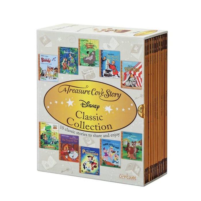 10 Piece Treasure Cove Disney Book Set