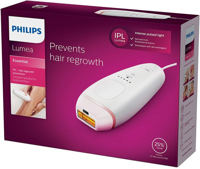 Philips Lumea Essential IPL Hair Removal Device