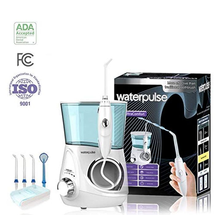 Water Flosser with 12 Settings and 700ml Water Tank