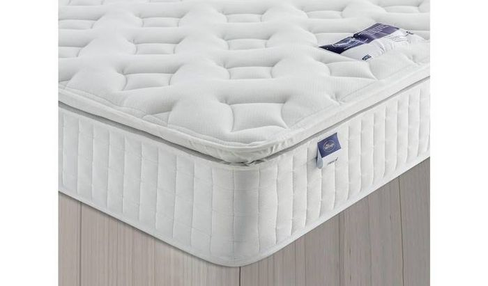 Silentnight Stanfield Sprung Pillowtop Superking Mattress Only £259.49