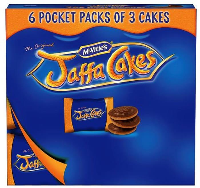 McVitie's the Original Pocket Pack Jaffa Cakes 6 Packs