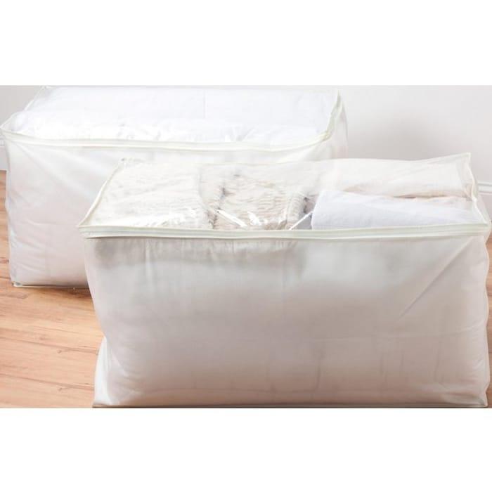 Argos Home Jumbo Cream Storage Bags Set of 2