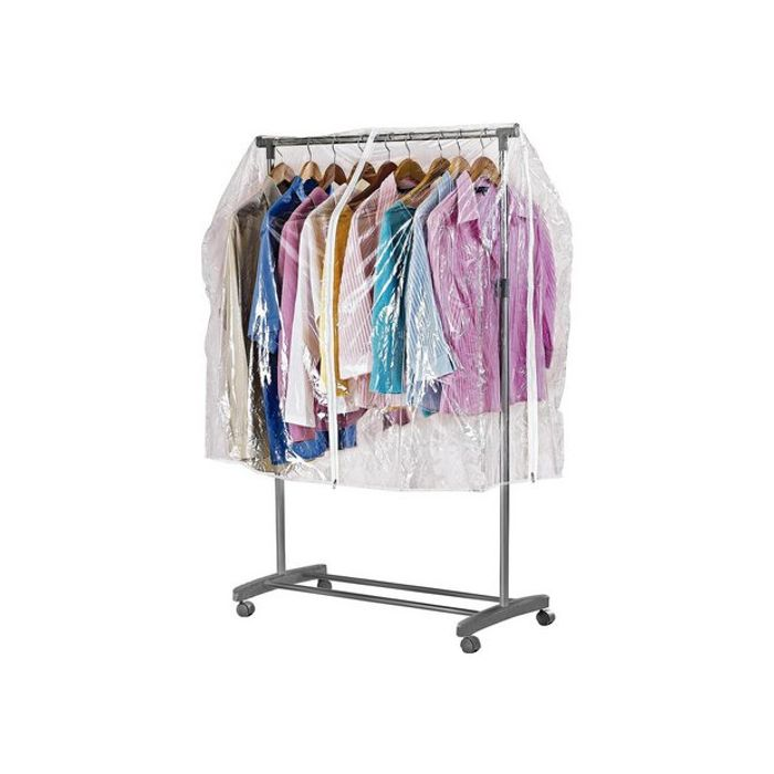 Argos Home Clothes Rail Cover - Clear