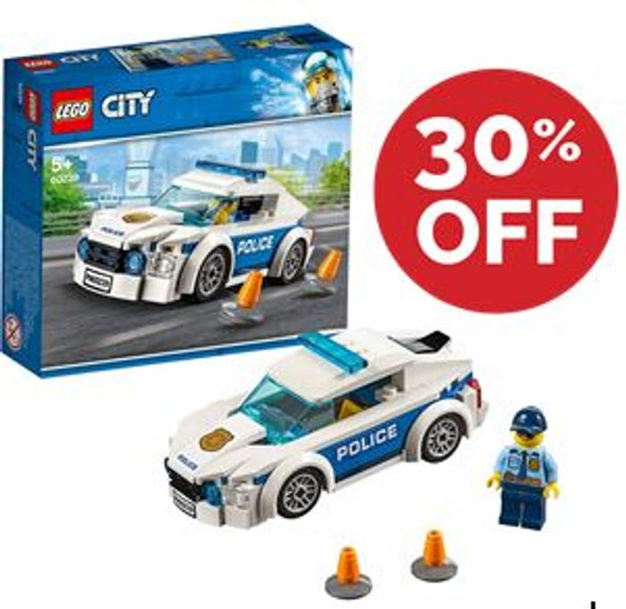LEGO CITY: Police Patrol Car (60239) ***4.9 STARS***